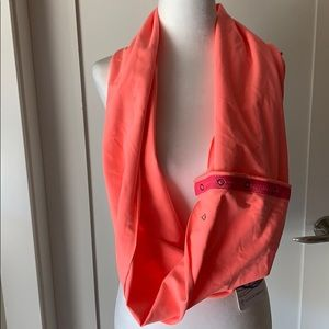 NEW Lululemon Ivivva Village Chill Scarf orange
